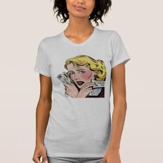 Vintage Romantic Art First Romance Break Up T-shirt