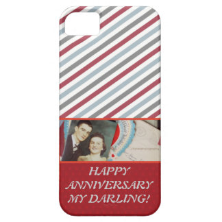 VINTAGE ROMANTIC HAPPY ANNIVERSARY OCCASION CASE iPhone 5 CASES