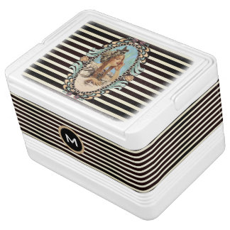 Vintage, Romantic & Modern Woman Cooler