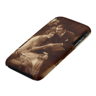 Vintage Romantic Music, Love and Romance Lovers Case-Mate iPhone 3 Cases