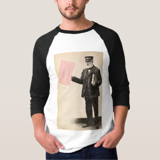 Vintage romantic postman t-shirts