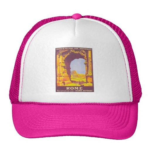 Vintage Rome Express Trucker Hats