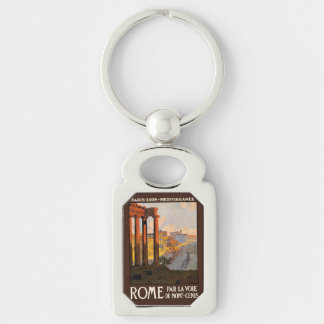 Vintage Rome Italy key chain