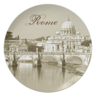 Vintage Rome, Italy Plate