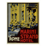Vintage Rome Posters