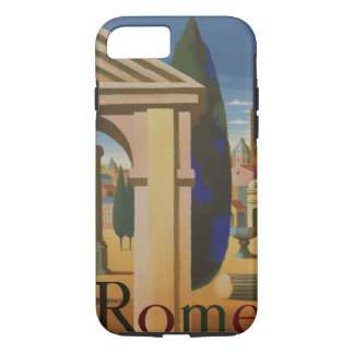 Vintage Rome Travel Poster Art iPhone 8/7 Case