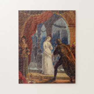 Vintage Romeo and Juliet Painting (1861) Jigsaw Puzzle