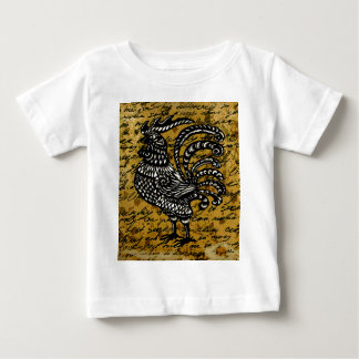 Vintage rooster baby T-Shirt