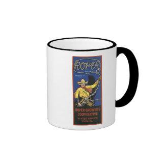 Vintage Roper Crate Label Coffee Mug