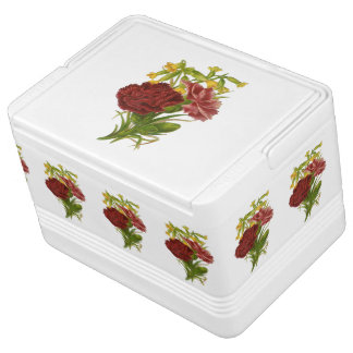 Vintage Rose Bouquet Cooler