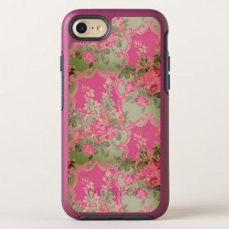 Vintage Rose Bouquet Wallpaper Pattern OtterBox Symmetry iPhone 8/7 Case