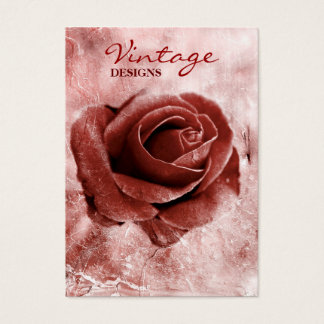 Vintage Rose Business Card