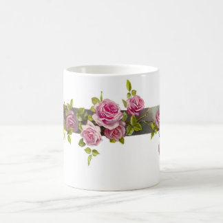 Vintage Rose Cascade Coffee Mug