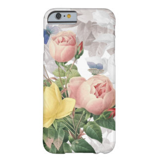 Vintage Rose Floral Bouquet Barely There iPhone 6 Case