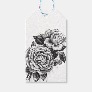 Vintage Rose Gift Tag