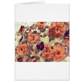 Vintage Rose Hips Card