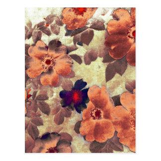 Vintage Rose Hips Post Cards