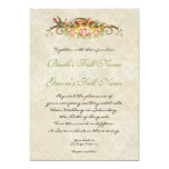 Vintage Rose n birds,  Wedding Invitation