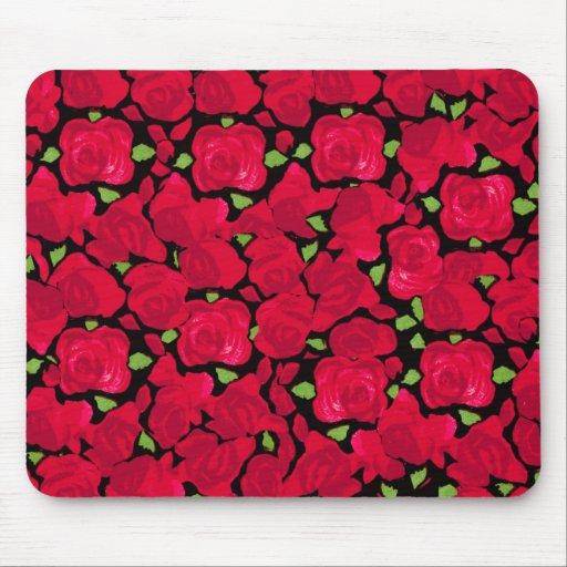Vintage rose novel TIC Mouse Pads