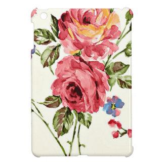 Vintage Rose Paper iPad Mini Cases