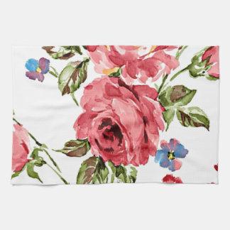 Vintage Rose Paper Tea Towel