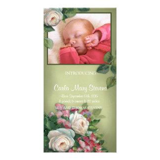 Vintage Rose Photo Cards