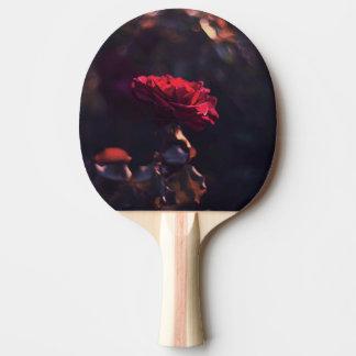 Vintage Rose Ping Pong Paddle