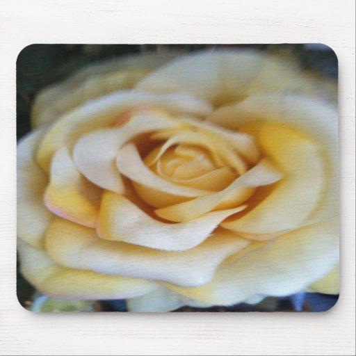 vintage rose printed mouse pad.