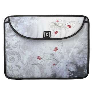 Vintage Rose Rickshaw Flap Sleeve Sleeves For MacBook Pro