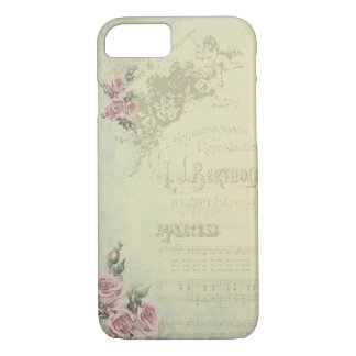 Vintage Rose - Shabby Chic iPhone 8/7 Case
