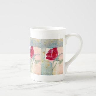 Vintage Rose Tea Cup