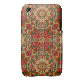 Vintage Roses Abstract Case-Mate iPhone 3 Case