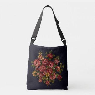 Vintage Roses Crossbody Bag