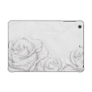 Vintage Roses Floral Grey Decorative