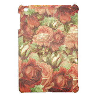 Vintage Roses Grunge Cover For The iPad Mini