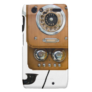 vintage rotary dial land line phone droid RAZR cover