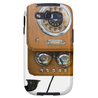 vintage rotary dial land line phone galaxy s3 cover