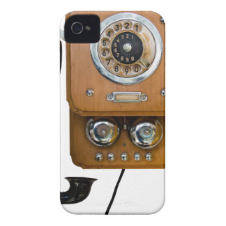 vintage rotary dial land line phone iPhone 4 cover