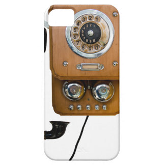 vintage rotary dial land line phone iPhone 5 case
