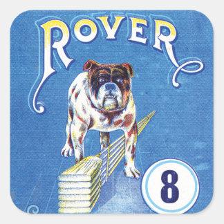 Vintage Rover Bulldog stickers