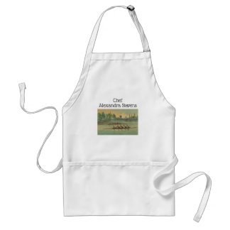 Vintage Rowers Crew Race Boat Race Standard Apron