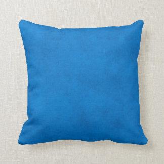 Vintage Royal Blue Paper Parchment Background Cushions