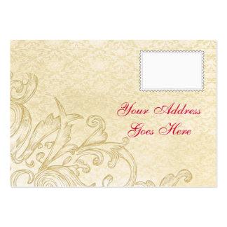 Vintage RSVP Card Business Cards