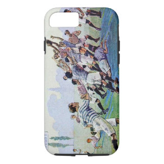 Vintage Rugby - iPhone 7, Tough, Case