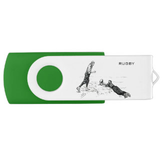 Vintage Rugby  USB 3.0 Flash drive