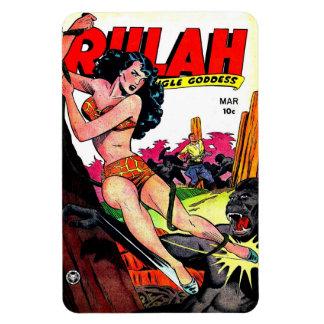 Vintage Rulah 1949 Comic Magnet