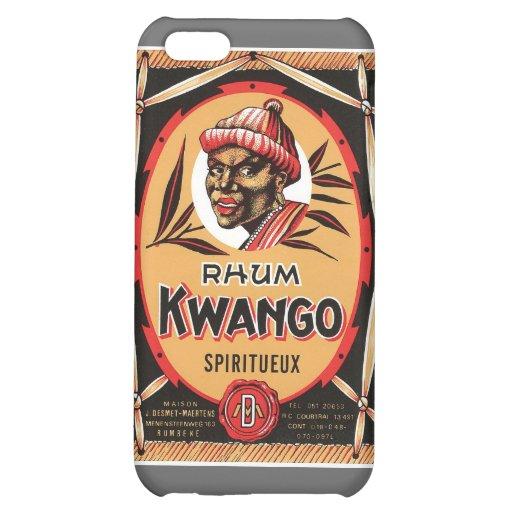Vintage Rum Liquor Product Label iPhone 5C Covers