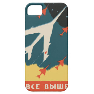 Vintage russian matchbox ads (CCCP Jet Fighters) Case For The iPhone 5