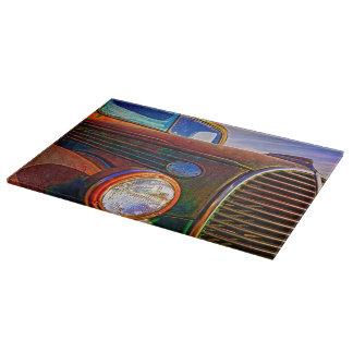 Vintage Rust N Colors Cutting Board Vintage Art