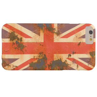 Vintage Rusted United Kingdom Flag Barely There iPhone 6 Plus Case